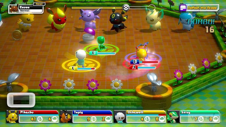 Pokémon Rumble U Gameplay