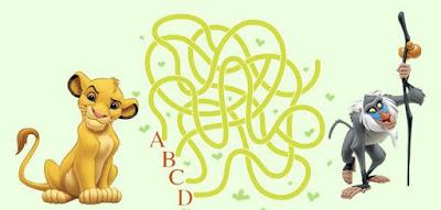 Figure: Which path will lead Simba to Mufasa?