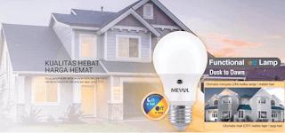 Lampu Led Meval Photo Sensor