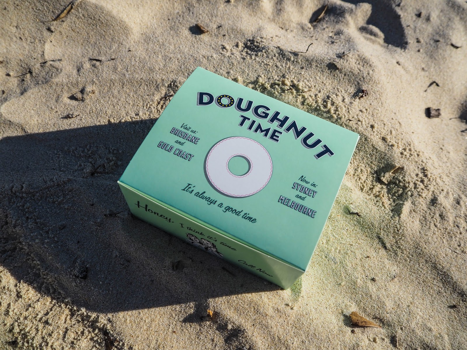 Doughnut Time box