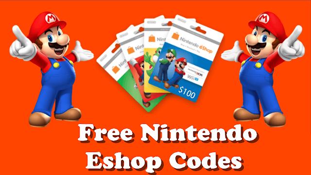 how to get free nintendo eshop codes