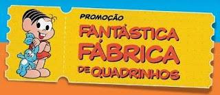 Cadastrar Promoção Panini Fábrica de Quadrinhos Turma da Mônica