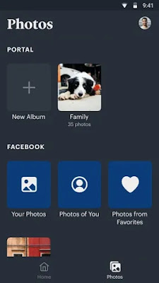 Portal from Facebook Interface