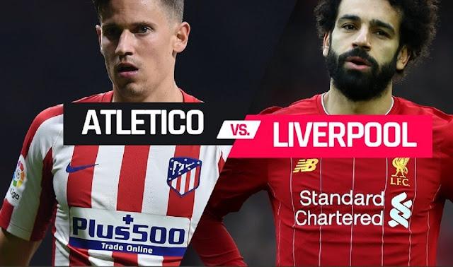 مشاهدة مباراة ليفربول وأتلتيكو مدريد بث مباشر