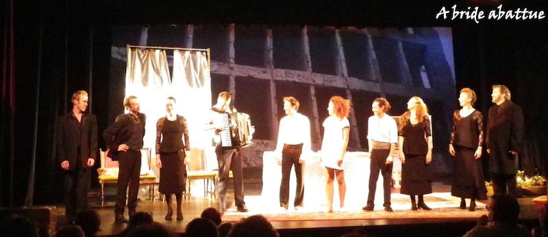 scène de rencontre au théâtre