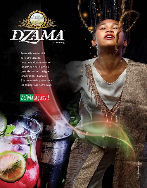 rhums dzama août 2018, pleine page magazine Expansion.