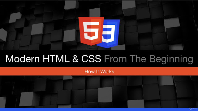 Modern HTML & CSS From The Beginning (Including Sass)