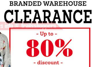Marks & Spencer, Zara, Branded Warehouse Sale 2017