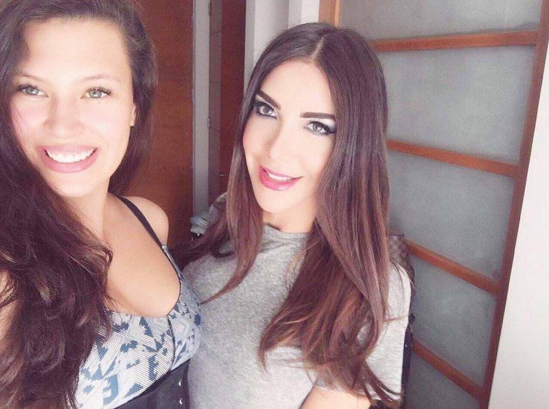 Michelle Carvalho defendió a amiga de un ladrón con el palo de una escoba