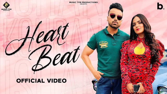 HEARTBEAT Song Lyrics  :  HEARTBEAT is A Punjabi Song Which Is Sunged By ISHAN KOURAN.  HEARTBEAT Song Lyrics Are Written By VINKLE VIKAS And Music Of This Song Is Produced By SAN J SAINI. The Music Video Of This Song is Directed By RANJEET RANA.