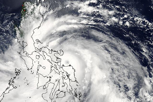 Typhoon, Glenda, Philippines
