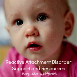 Reactive Attachment Disorder support and resources