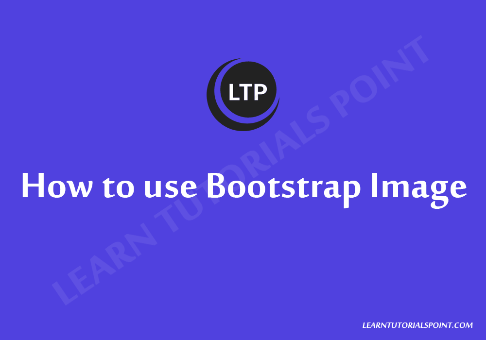 How to use Bootstrap Image