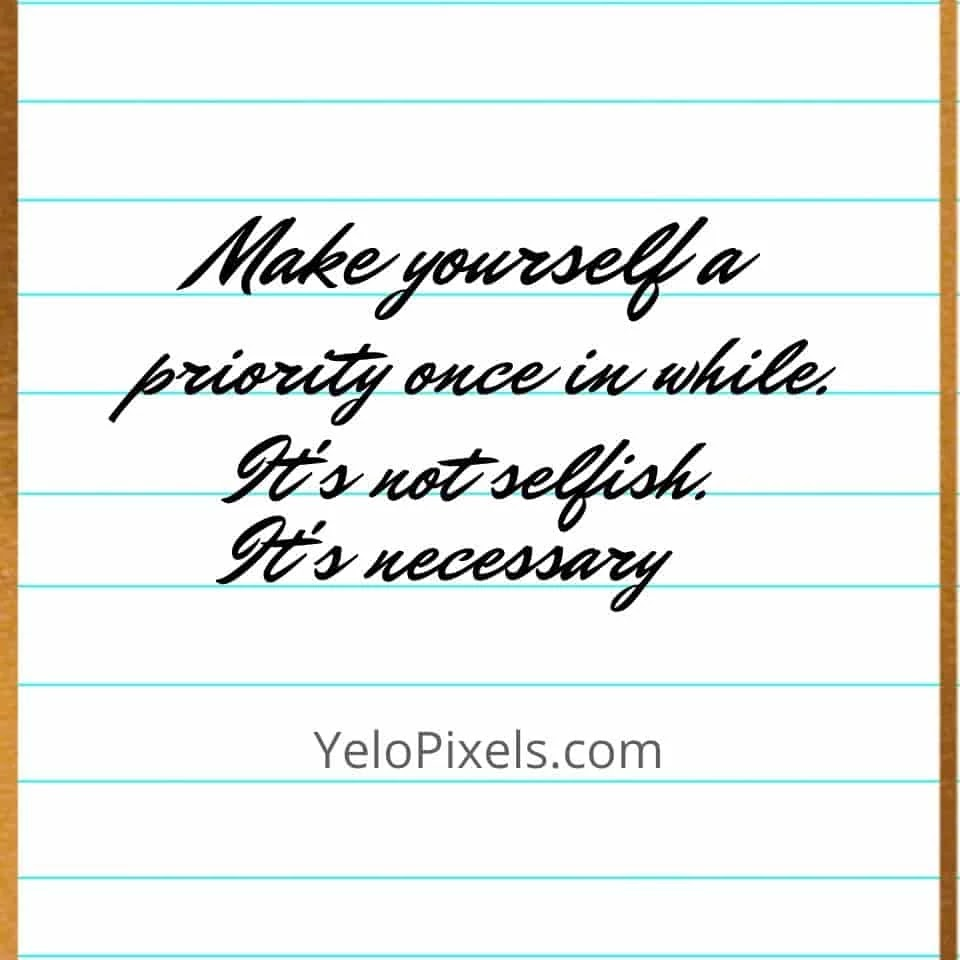 make-yourself-first-priority-it-is-not-selfish