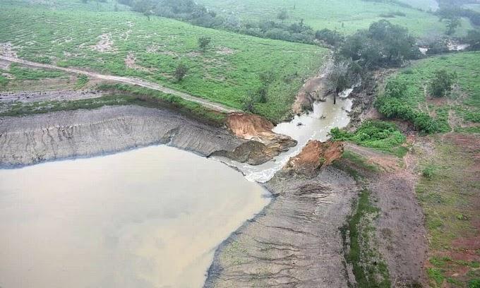 Técnicos vistoriam barragens e adotam medidas para evitar novos rompimentos