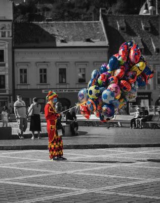 Photos by Cozmin Virlan clown