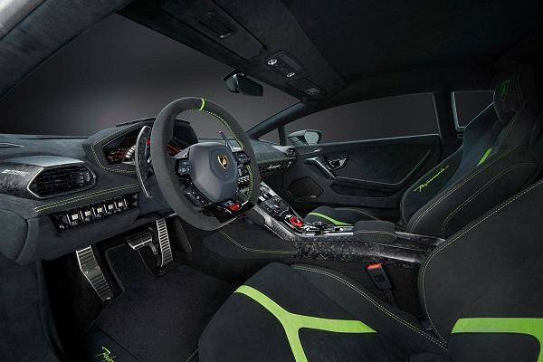 Interior Lamborghini Huracán Performante