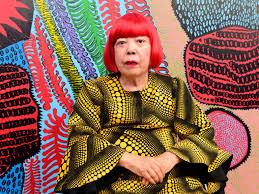Yayoi Kusama, (Born 1929)
