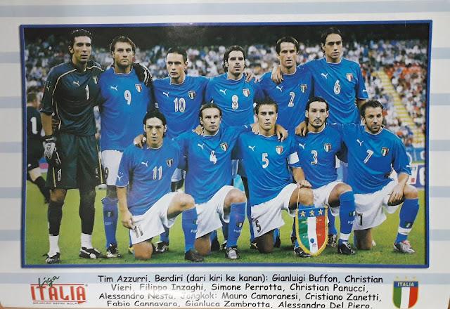 ITALIA TEAM SQUAD 2003