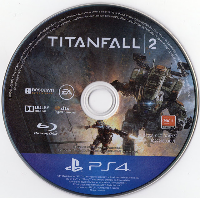 Label Titanfall 2 PS4