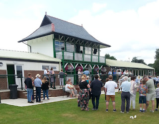 Honley CC pavilion restored and opened after 5 years planning, fund-raising and building