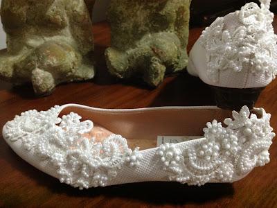 sapatilhas brancas para noivas