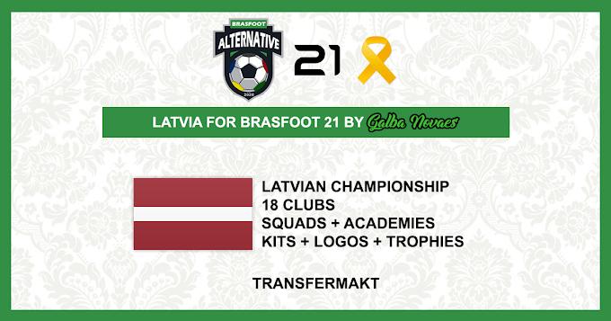 Letónia - Brasfoot 2021