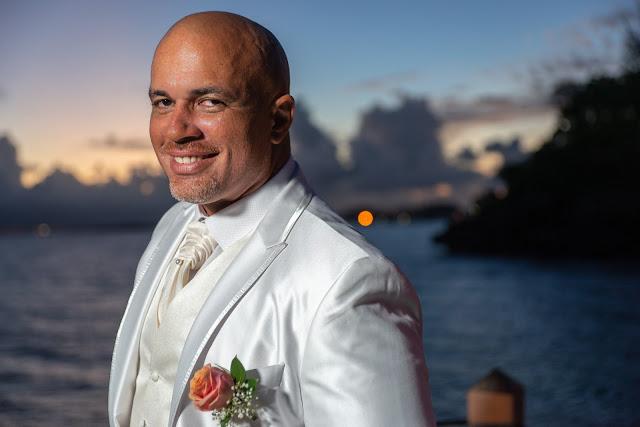 mariage Guadeloupe Gosier portrait marié