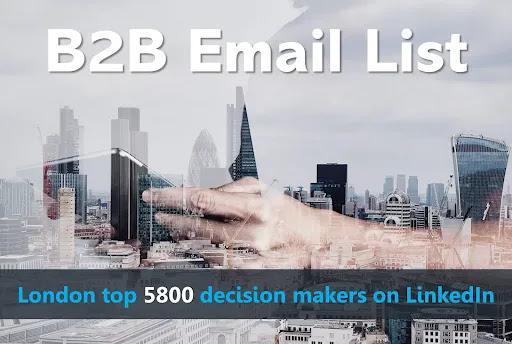 London B2B Email List