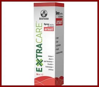 EXTRACARE spray pentru arsuri Biofarm