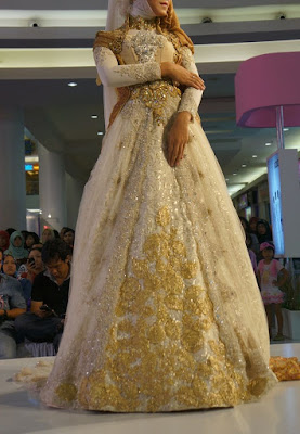 sewa gaun pengantin muslimah