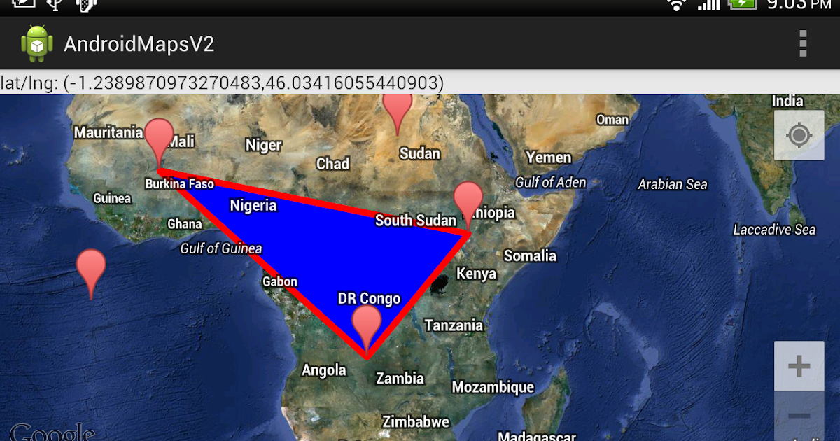 Android-er: Google Maps Android API v2 example: Draw Polygon