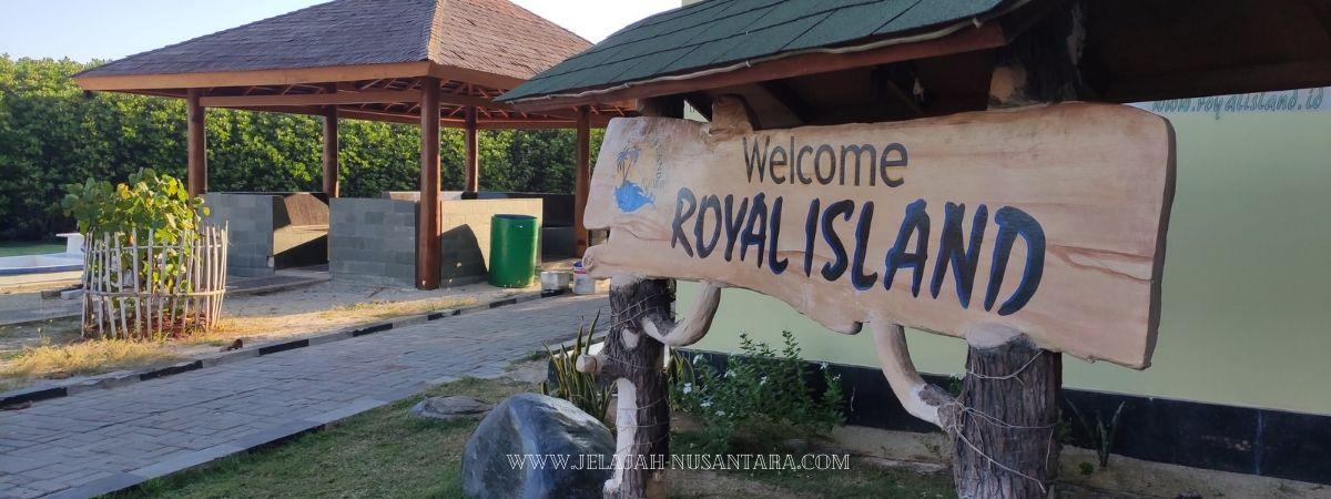 paket wisata royal island resort pulau kelapa kepulauan seribu