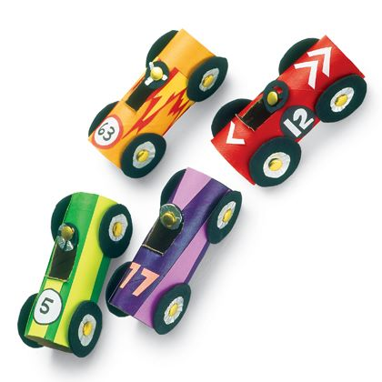 Crafts: Hot Rod Racers