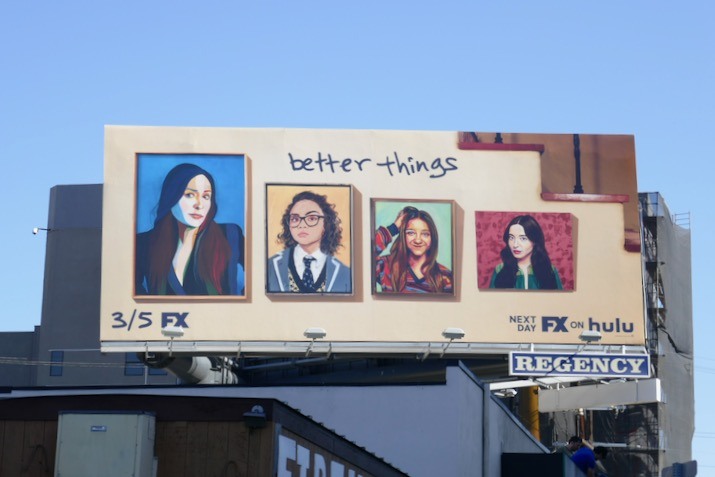 Better Things season 4 billboard