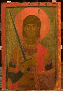 βυζαντινή εικόνα του αγίου Προκοπίου