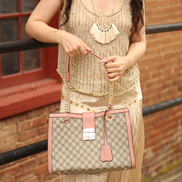 Popjulia Chain Strap Hand Bag