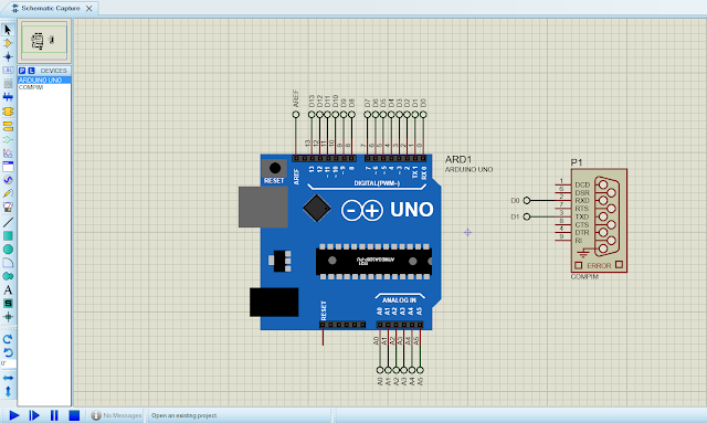 Arduino Simulation Serial Communication