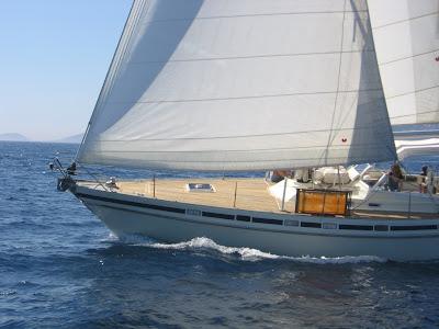 tour de corse en voilier