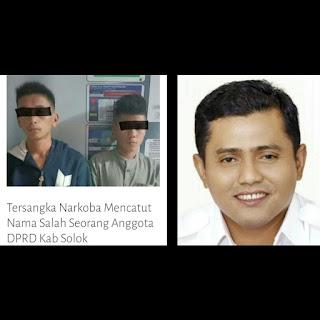 Dituduh Pengguna Narkoba, Ketua DPC Gerindra Kabupaten Solok, Jon Firman Pandu, Meradang!