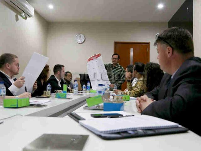 Komisi Pemilihan Umum Terima Audiensi acypl-USINDO