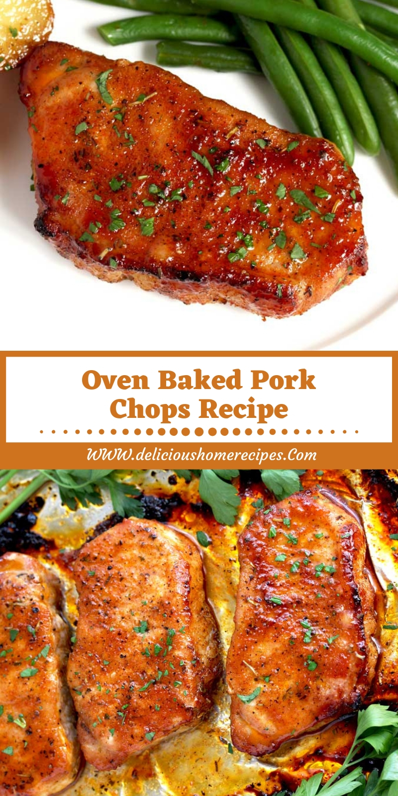 Oven Baked Pork Chops Recipe