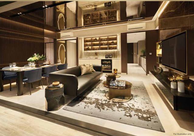 Irwell Hill Residences Living Room