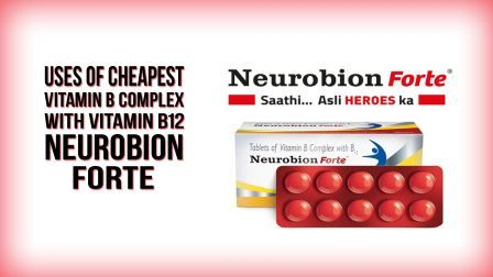 Neurobion Forte - Cheapest Vitamin B Complex with Vitamin B12 Supplement Review Hindi