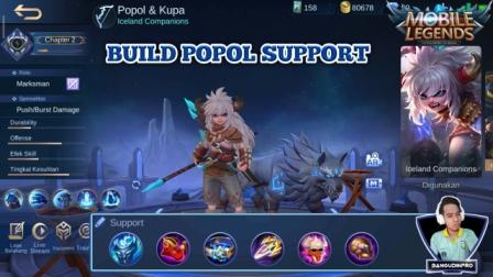 Build Hero Popol and Kupa support