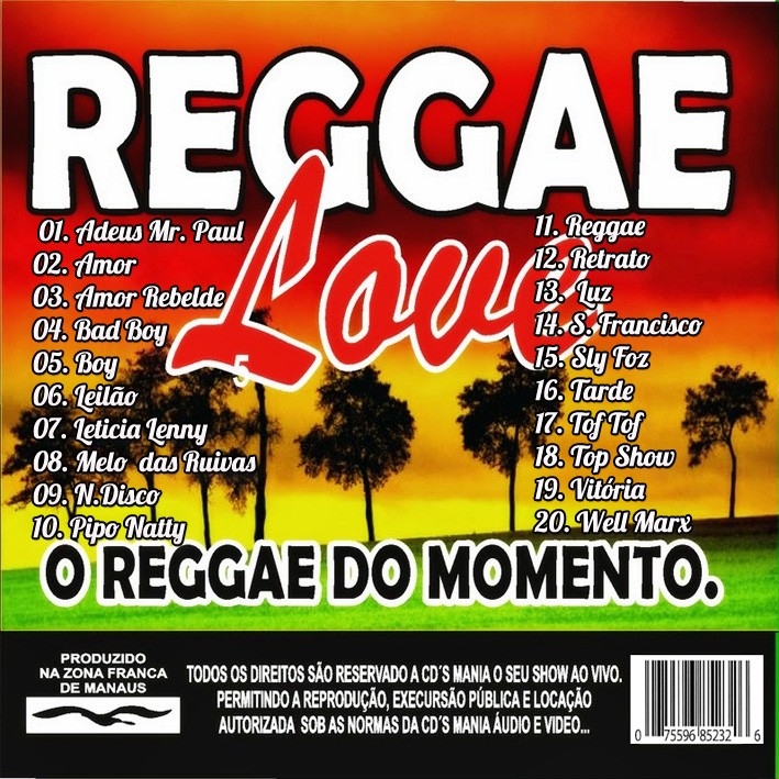 cd reggae love maranho vol.01