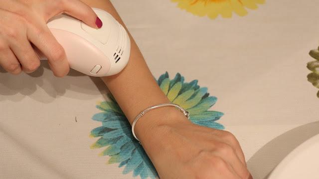 lazer epilasyon, evde lazer, remington IPL 6250 i-light, epilasyondan sonra,