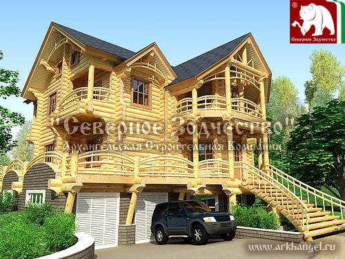 Unusual Log House Designs Home Appliance