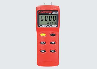 Darmatek Jual Amprobe MAN-15 Digital Differential Pressure Manometer 15psi Murah