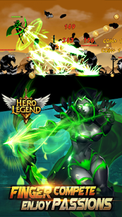 Hero Legend Shadow Stickman Apk v3.5.0 Mod Unlimited Money&Gems Terbaru